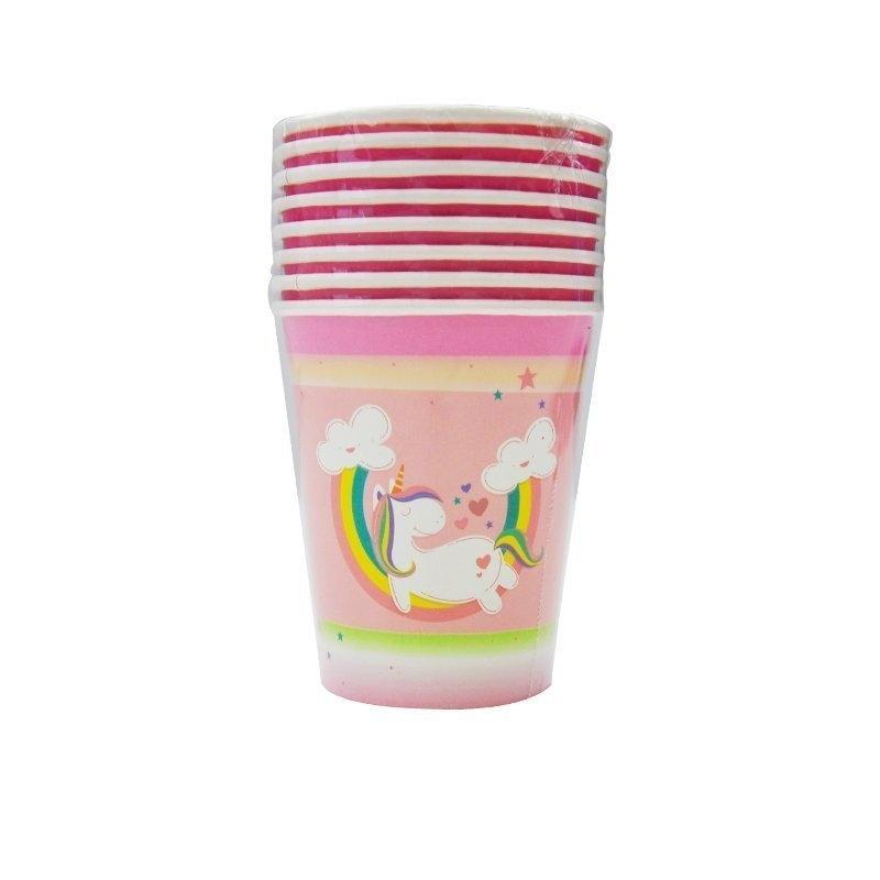 unicorn paper cups