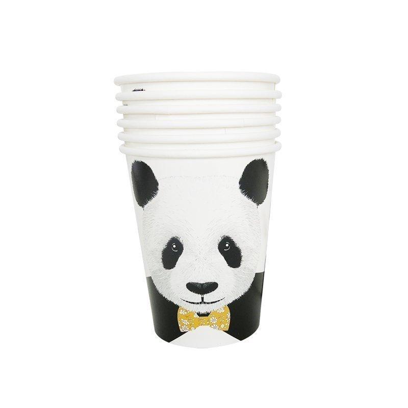 panda paper cups